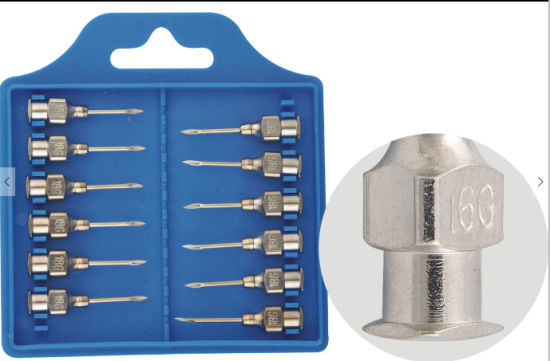 Factory Outlet New Arrival Veterinary Needle Metal Stainless Steel pictures & photos