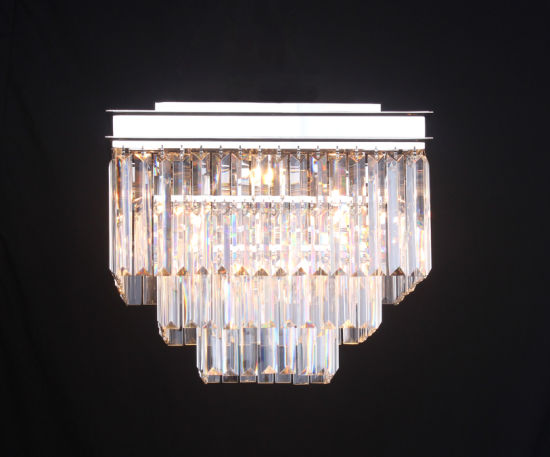 China Crystal Lighting Pendant Chandelier Flushmount Ceiling Lamp
