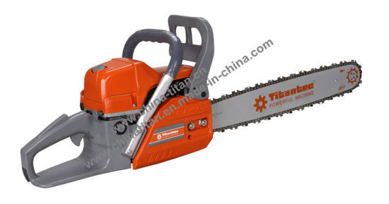 61.5cc Powerful Chain Saw with Paper Air Filter for Woodcutting Tt-CS6150-2 pictures & photos