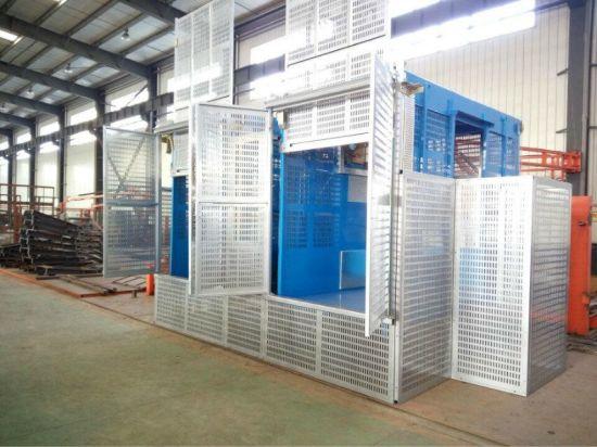 China Building Elevator Construction Hoist Machine for Temporary
