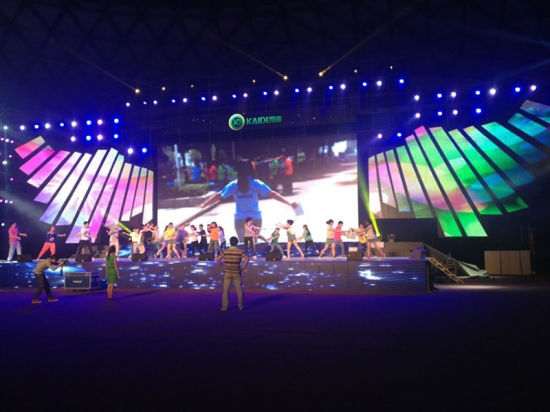 P6.67 Full Color Outdoor Rental LED Video Wall for Celebration pictures & photos