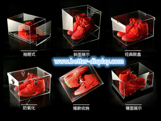 Custom Acrylic Transparent Shoe Box