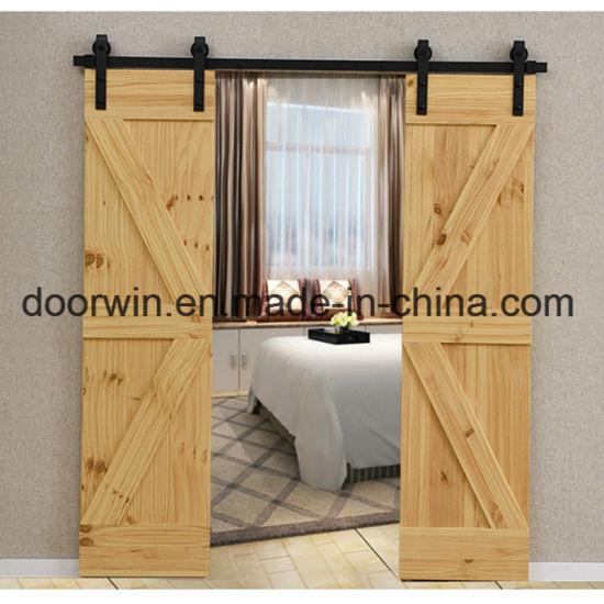 China Best Price Offer Interior Decorative Sliding Door Double