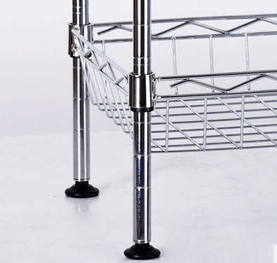 Supermaket Store Metal Fruit Vegetable Display Rack with Basket, NSF Approval pictures & photos