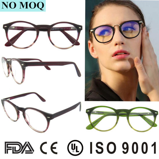 b20e2a56ce88 High Quality Acetate Glass New Style Spectacles Fashion Optical Frame  pictures   photos