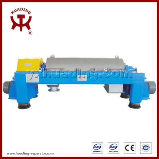 Decanter Centrifuge Horizontal Spiral Centrifuge Sludge Treatment