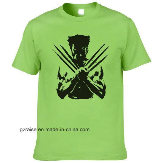 (42 available colors) Wholesale Custom Cheap T-Shirt with Printing Logo pictures & photos