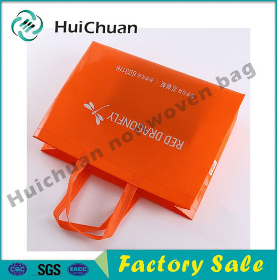 2016 New Fashion Ecological Ultrasonic Non Woven Shoe Bag pictures & photos