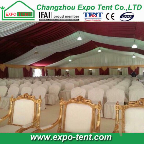 1000 People Big Party Tent with Pagoda in Nigeria pictures & photos