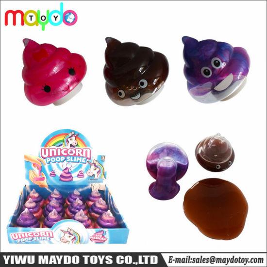 Magic Silly Galaxy Unicorn Poo Slime Putty Toy