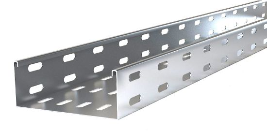 Perforated Ladder Type Steel Wire Mesh Hot DIP /Pre-Galvanized Trunking Cable Tray
