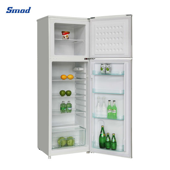 210L 280L Home Use Double Door Top Freezer Fridge Refrigerator