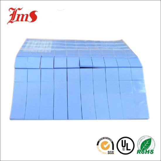 China 4mm Thickness Silicon Manufacturer Thermal Pad Rubber