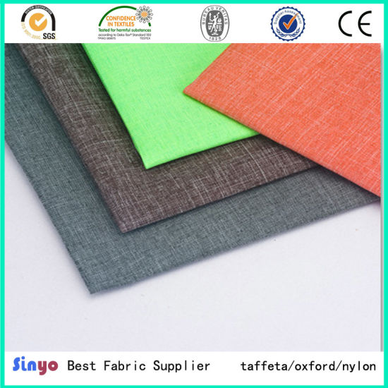 China Top Selling 300d Two Tone Cationic Oxford Fabrics For Trolley
