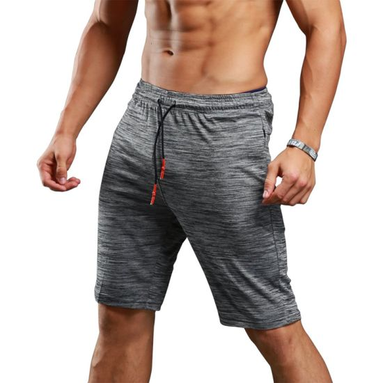 9d53b83c2f Men′s Bodybuilding Gym Running Workout Shorts Active Training Shorts Pants