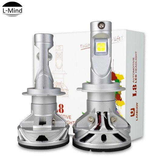 China 360 Degree Xhp50 Led Headlamp Bulb H4 H7 Cree Xhp 70 L8 Car