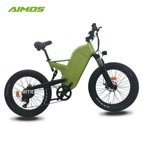 Full Suspension Fat Tire Electric Bike for All Terrain