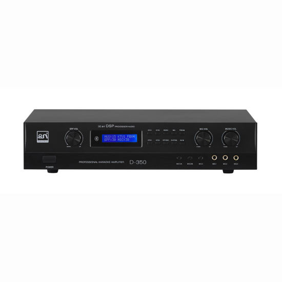 350W Digital HiFi Stereo Karaoke Audio Amplifier (D350)