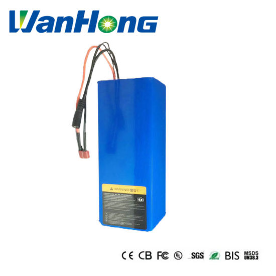 48V 6ah 18650 Electric Bicycle Battery/Rechargeable Li-ion Lithium Ion Electric Bike Battery Pack for Self-Balancing Unicycle E Scooter