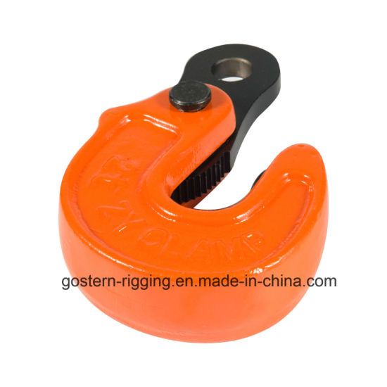 Horizontal Steel Plate Lifting Clamp From 1t-5t pictures & photos