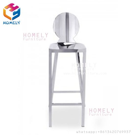 Wholesale Price Modern Luxury Stainless Steel Unique Used Bar Stool Chair pictures & photos