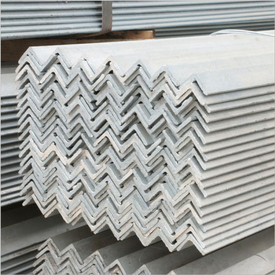125*75*8mm Ss400 Hot Dipped Galvanized Steel Angle Iron pictures & photos
