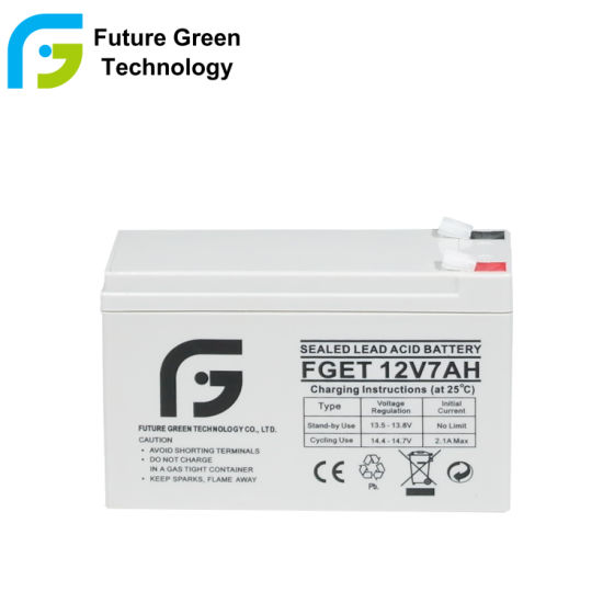 12V 7ah Lead Acid Storage Battery for Electronic Device Scooter