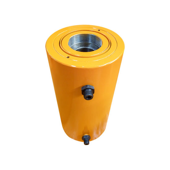 Hollow Hydraulic Cylinder 180 Ton Double Acting