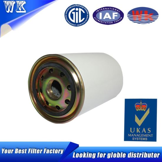 Oil Filter Supplier Engine Spare Parts Metal Outlook Oil Filter pictures & photos