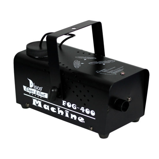 Small Light Wire Control 400W Fog Machine for Nightclubs Theaters Djs Bands and Famliy Parties