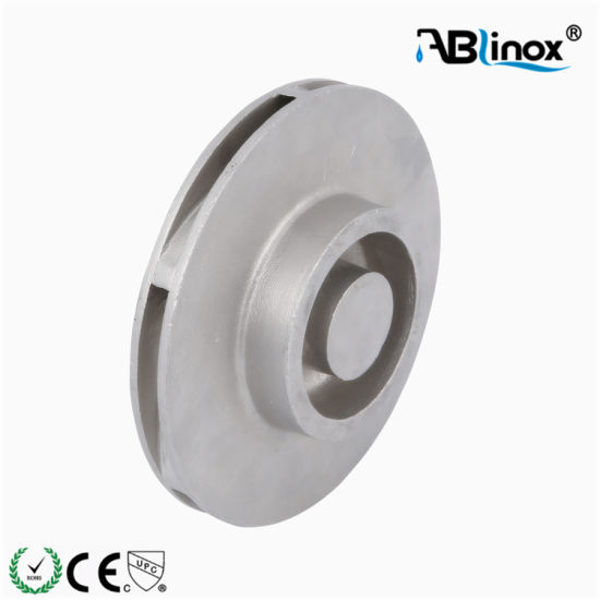 CF8m Turbine Part Stainless Steel Carbon Steel Investment Casting Factory