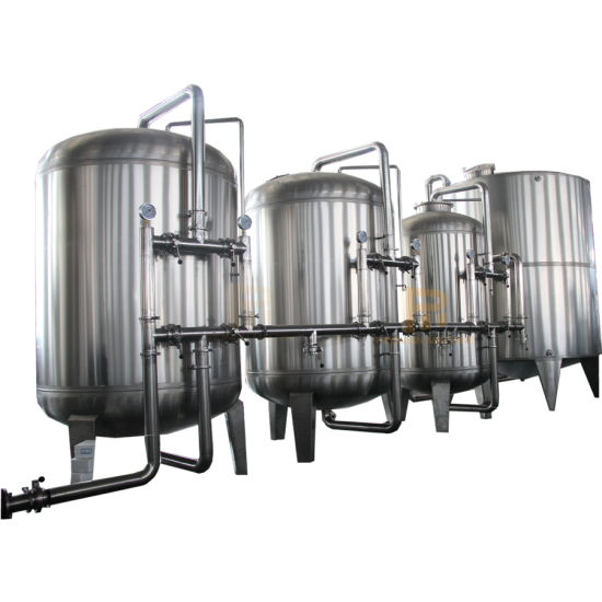 UF Water Treatment Equipment / Hollow Fiber Ultrafiltration System / UF Membrane System Machine