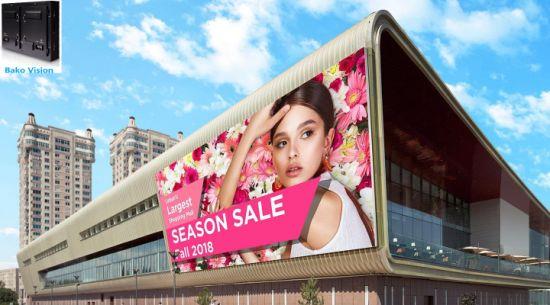 P6.67 Outdoor LED Advertising Billboard Screens LED Panel Wall LED Tvs Full Color High Brightness 1920Hz