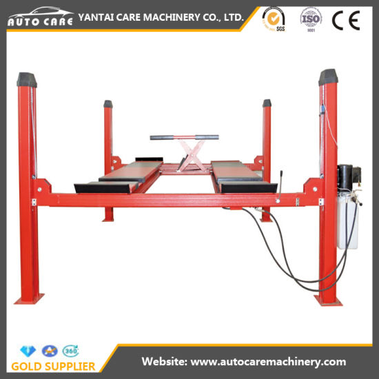 Four Post 4/5/5.5 Tons Car Hoist/ Brand New Car Lifting Equipment