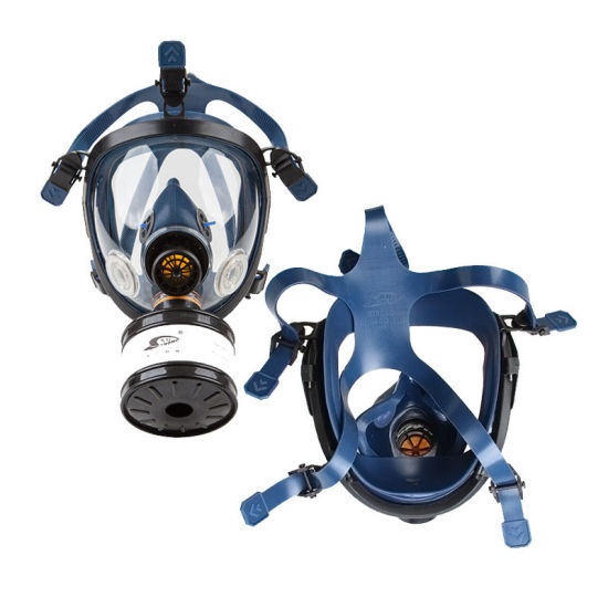Ce Full Face Anti Gas Dust Particulates Chemical Respirator Mask