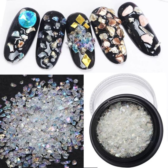 Crystal Ab Colorful Stones 3D Nails Art Decoration Personalised Nails pictures & photos
