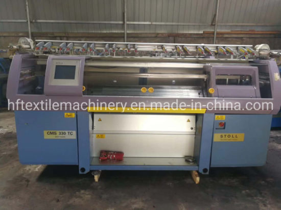 Stoll Flat Knitting Machine Cms 330tc E3.5.2 St268 Fast Fashion High Speed Automatic