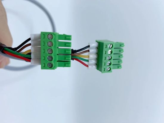 Industrial Electronic Power Cable Assembly Terminal Block Wire Harness