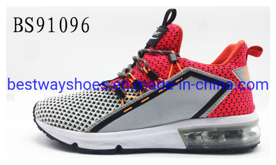 New Fashion Sneaker Fabric Upper Basketball Running Sport Shoes pictures & photos