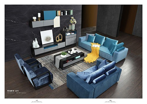 Modern Home Living Room Furniture 2-Seat Leisure Sofa for Walmart