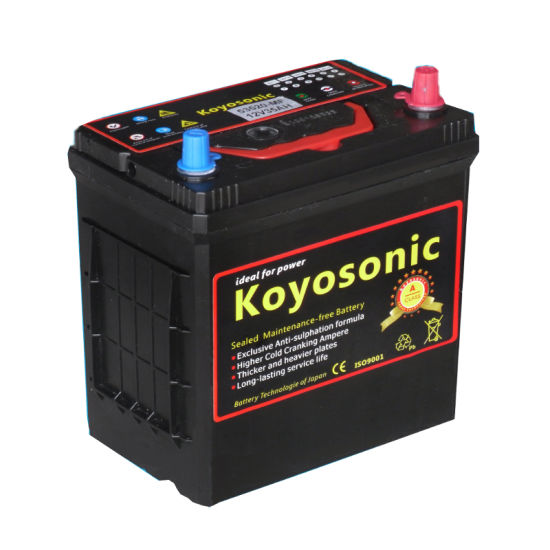 Maintenance Free Car Battery Ns40zl Car Battery Acid Car Battery