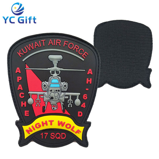 Customized Apparel Accessories Garment Label PVC Police Patches Rubber Military Tactical Gear Hang Tag Sticker Fashion PU Label Printing Iron on Patch (PT27)