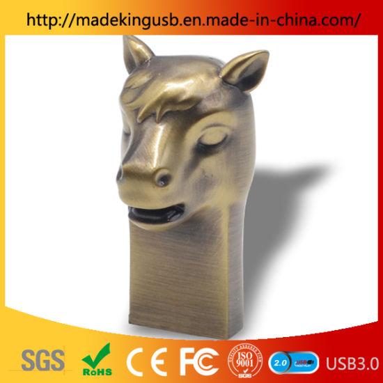 Mini Zodiac Horse Metal Pen Drive/USB Stick