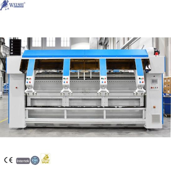 Industrial Finishing Laundry Flatwork Single Lane Linens Spreading/Feeder Washing Machine