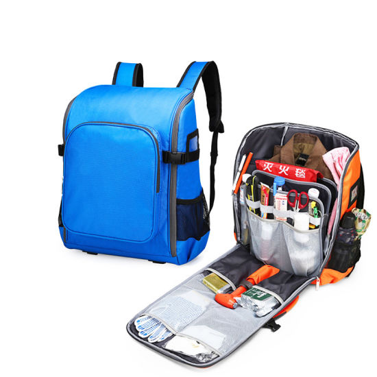 Waterproof Fireproof Earthquake Rescue Escape First Aid Kit Tool Bag