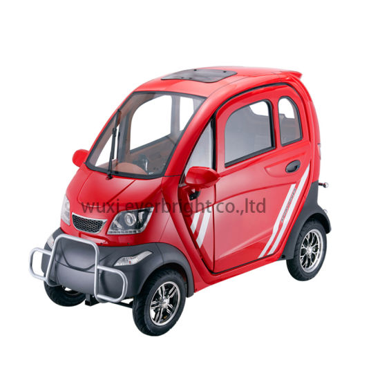 Chinese Street Electric City Car 2 3 Seater Four Wheeled Electric Vehicle pictures & photos
