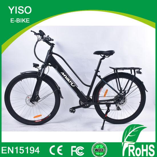 Urban Commuter Alloy City 700c Electric Dutch City Bike with 6 Speed Road City Bike