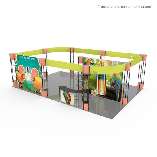 Portable Exhibition Booth Aluminum Modular Trade Show Exhibition Booth Display Stand
