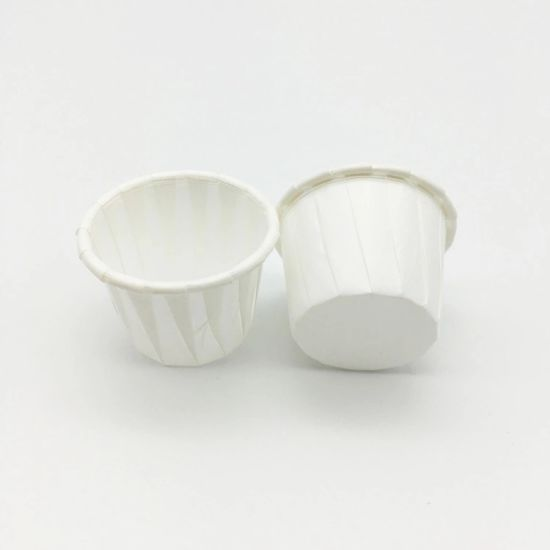Hot Selling Cheap Treated Souffle Cups Patient Feed Cups 4.0oz Souffle Cups Paper Portion Cups