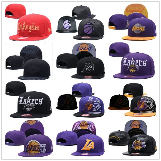 Los Angeles Lakers Official Team Color Fifty Adjustable Snapback Hat